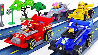 Paw Patrol Ready Race Rescue team! We are racing with PJ Masks! | DuDuPopTOY