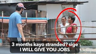 "Hiring JOBLESS & STRANDED ""Construction Workers"" During Lockdown 🙏🇵🇭 (Part 1)"