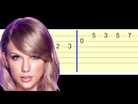 Taylor Swift - Ready For It (Easy Guitar Tabs Tutorial)