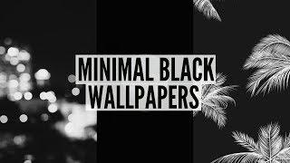 BLACK TUMBLR WALLPAPERS YouTube