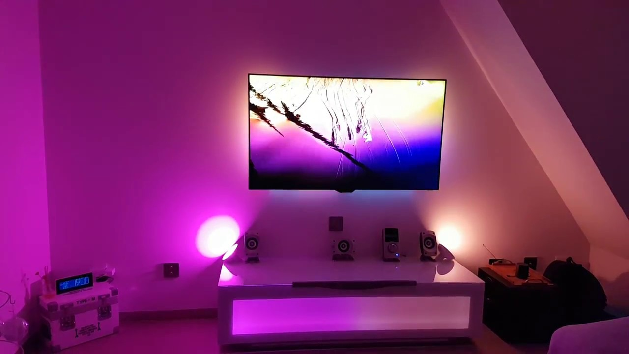 Philips Ambilight 3 X Lightstrip 3 X Bloom Hue In Hd