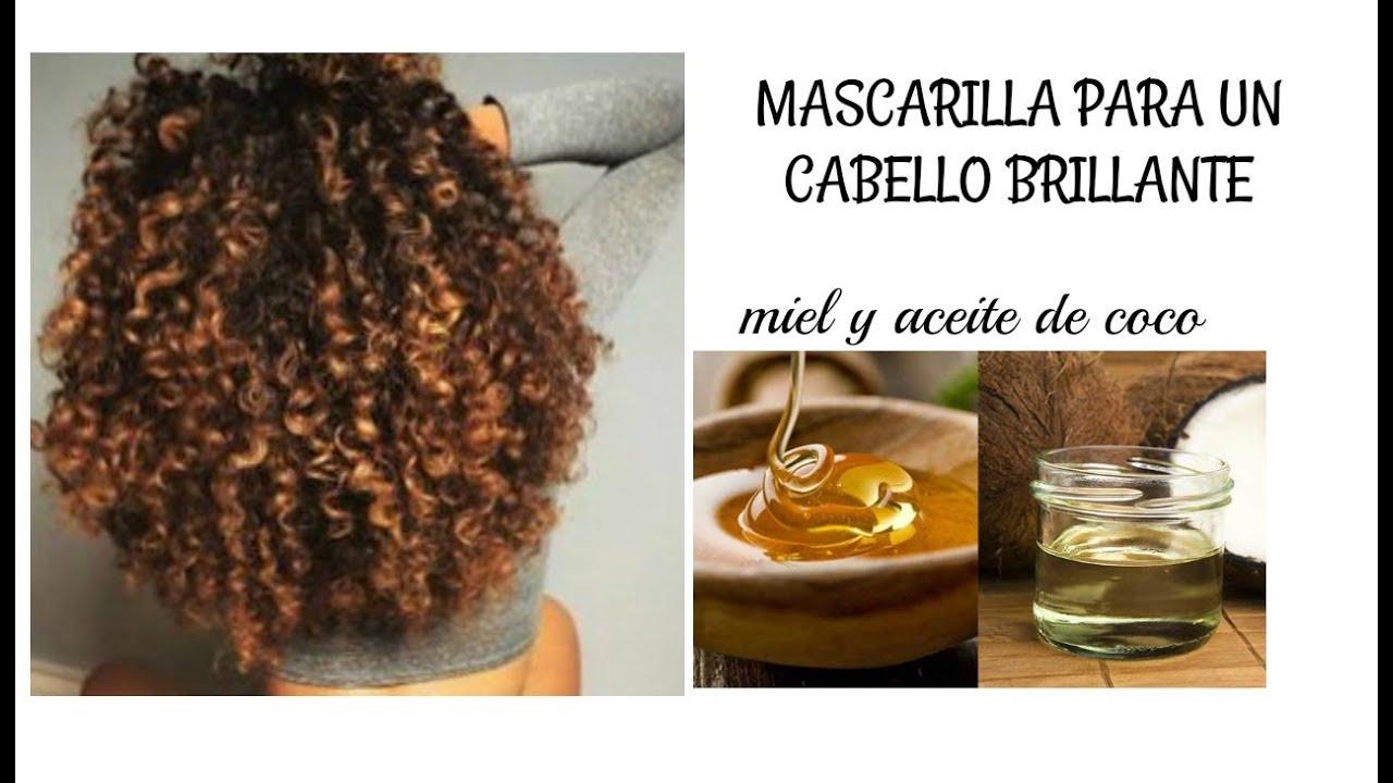 aceite de coco canela y miel para el cabello