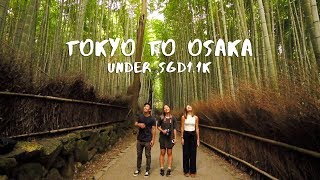 Japan Budget Guide - 10D Tokyo to Osaka for under S$1.1k using the JR Pass | The Travel Intern