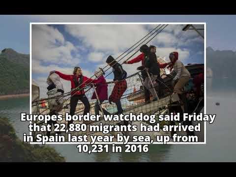 Spain rescues 56 migrants crossing Mediterranean Sea