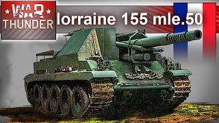 lorraine 155 mle.50 - koniec świata - bitwa na baboku w War Thunder