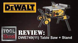 Dewalt Dwe749 Table Saw Review