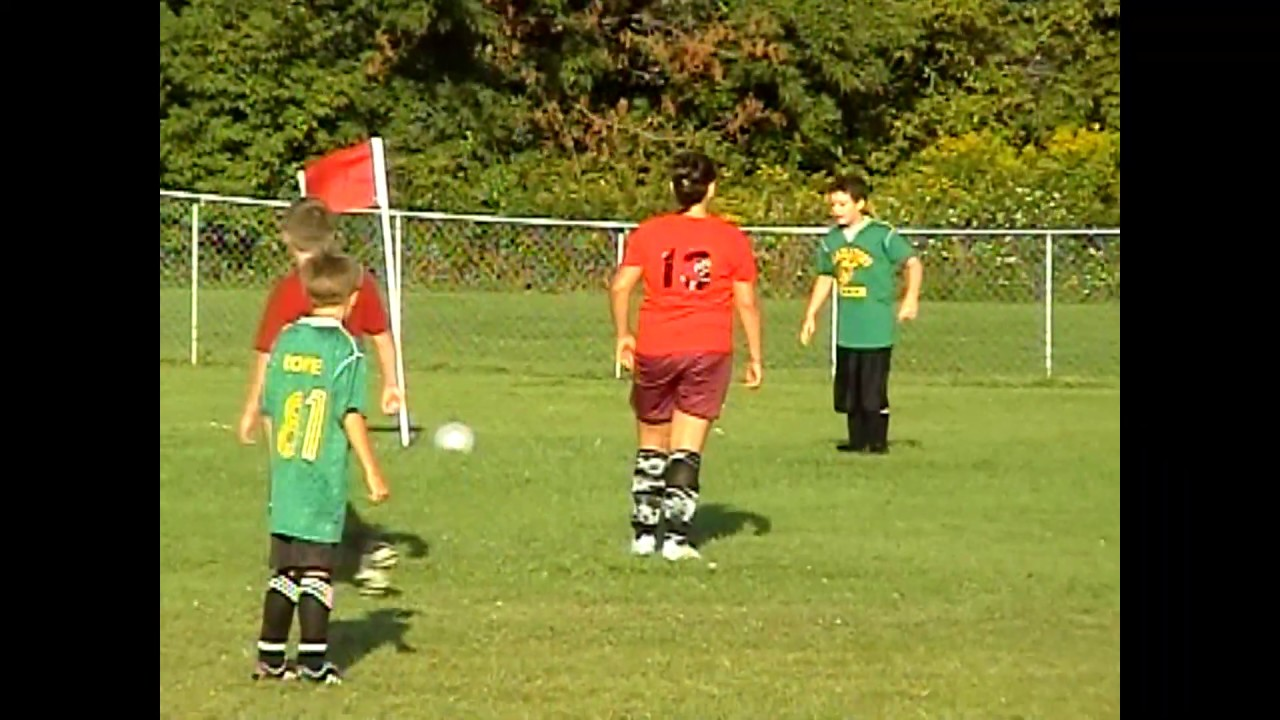 Champlain - Rouses Point Pee Wees  9-7-09