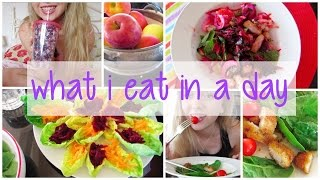 What I Eat in a Day! ♡ Thumbnail