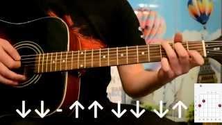 Скрябін Мовчати гітара розбір без баре