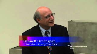 "Interview of ""Family Tree DNA"" founder Bennett Greenspan"