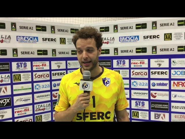 Il libero Zito analizza il match vinto con Santa Croce