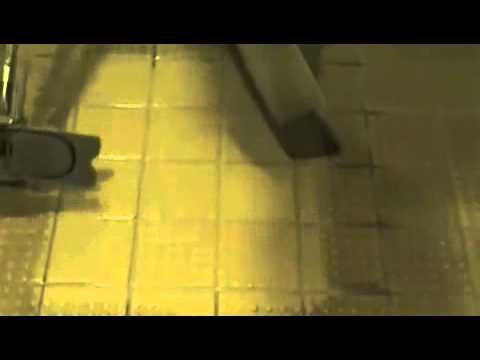 Deep Cleaning Of Ceramic Anti Slip Tiles YouTube - Cleaning non slip tiles