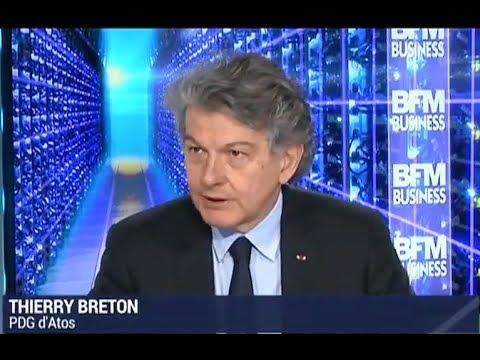 """""""Atos au coeur de l'innovation quantique"""" - Interview de Thierry Breton"""
