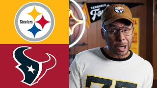 Dad Reacts to Steelers vs Texans - NFL Week 3