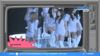 Корейские девчонки Girls' Generation поставили на уши всю Азию