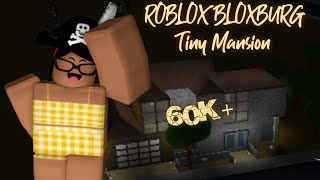 ROBLOX Bloxburg 60k+ Tiny Mansion|| AmberUrie