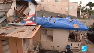One year after Hurricane Maria, Puerto Rico is still reeling