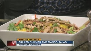 Sunday Brunch:  Julie Wheeler's Grilled Chicken And Mango Salad Part Ii