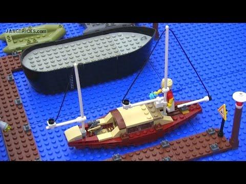 LEGO small custom Sailboat mini-MOC