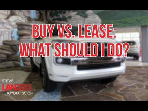 buy vs lease what should i do steve landers toyota in little rock arkansas youtube. Black Bedroom Furniture Sets. Home Design Ideas