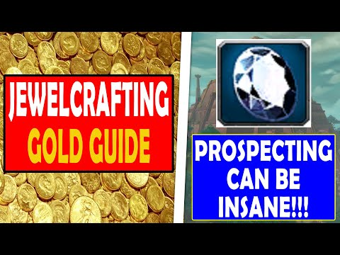 How To Get Rich With Jewelcrafting | BFA Jewelcrafting Gold Guide