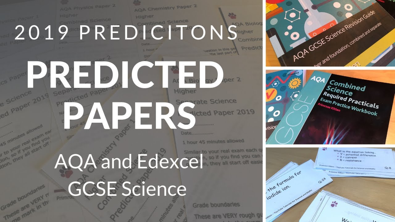 Predicted Papers for 2019 GCSE science