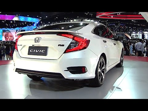All new 2016, 2017 Honda Civic RS official video Honda Civic 2016, 2017