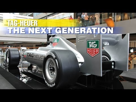 Tag-Heuer: The Next Generation. Geneva Motor Show 2017