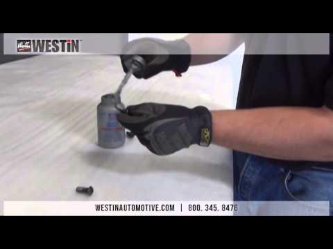 Installation of Westin GenX Step Bars on 2014 Dodge Ram 1500 Crew Cab