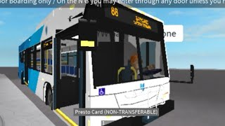 (Riding with Knowah L.A.D English) Roblox Y RT Division 2017 New Flyer XD40 1401 Route 88