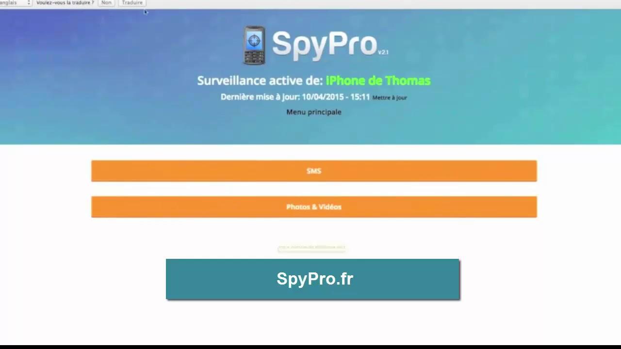 application surveillance sms gratuit