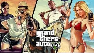 Grand Theft Auto V  Pc Gameplay on Ge Force GT 520 & Intel Dual Core