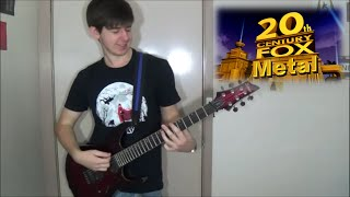 The classic 20th Century Fox Theme on le beautiful electric guitar ...