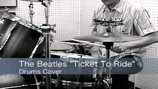 """The Beatles """"Ticket To Ride"""" Drum Lesson"""