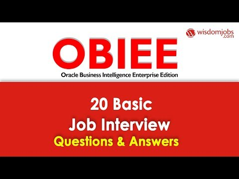 TOP 250+ OBIEE Interview Questions and Answers 12 September