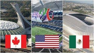 United 2026 Coupe du monde | Stades et 16 villes hôtes