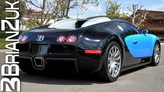 Bugatti Veyron Start Up and Acceleration