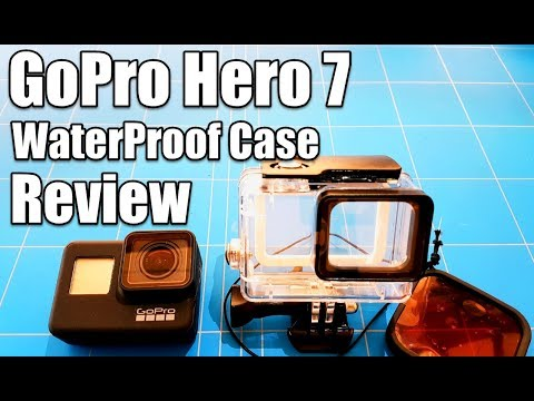 Gopro Hero 7 Waterpoof Case In Depth Test Review With and Without Red Filter Underwater Video