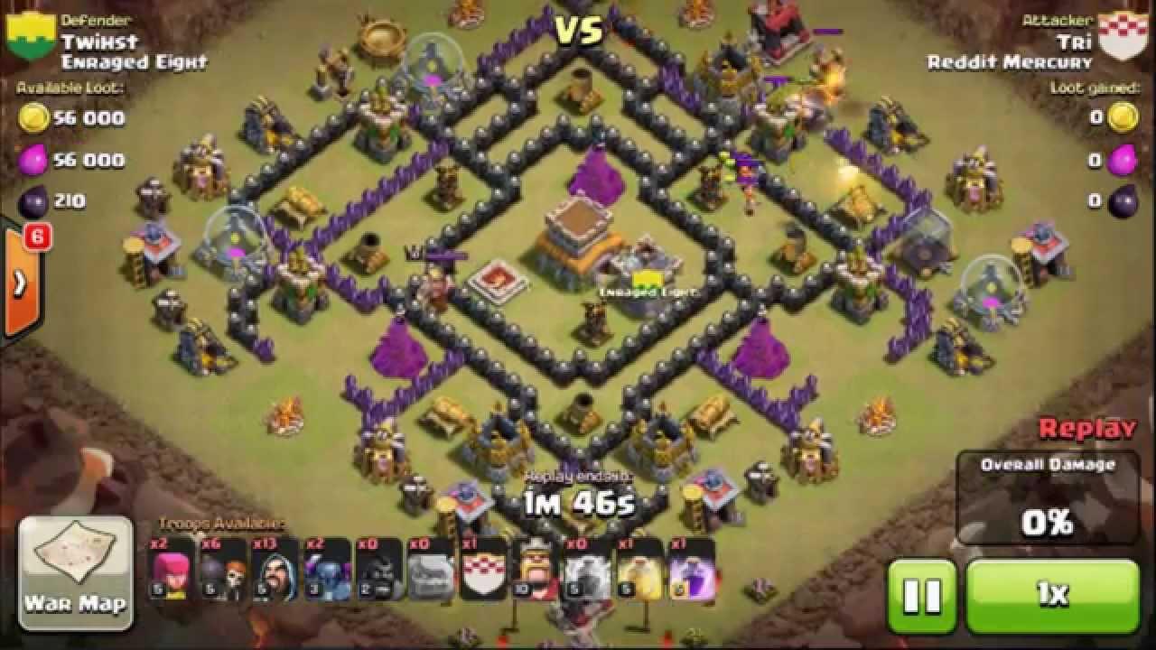 War Recap! :: Enraged Eight vs Reddit Mercury :: CLASH OF CLANS