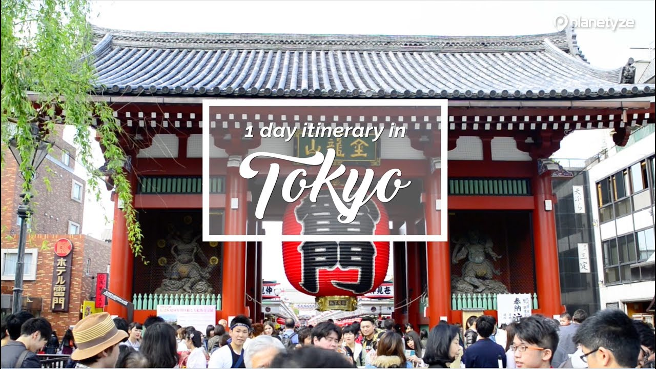 tokyo travel plan for first timers japan itinerary suggestion