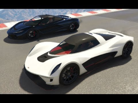 GTA 5 Top Speed Drag Race (Vagner vs. T20)