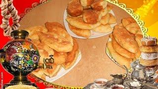 Пирожки с картошкой и капустой жареные Как приготовить дрожжевое тесто Готовим дома #Рецепты