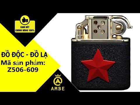 Bật lửa xăng đá ngôi sao Zorro Z506-609 độc lạ – Ambe.vn