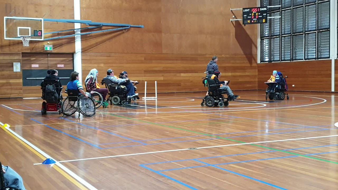 Wheelchair rugby July 2019