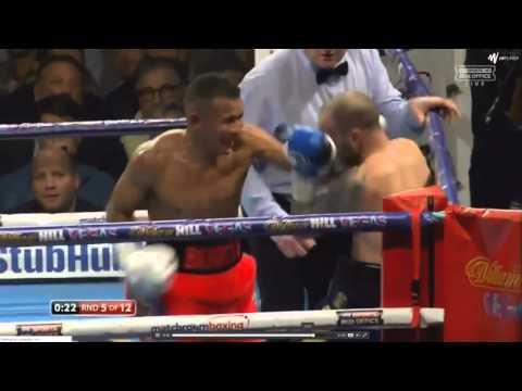 Kevin mitchell vs Ismael barroso (Last round KO!)