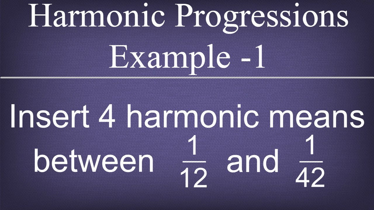 L9 sequences and series.