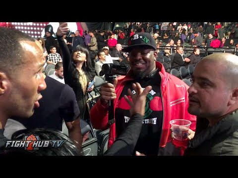 James DeGale vs Drunk Fan- Crazy Argument over Andre Ward, Gennady Golovkin, Ronda Rousey