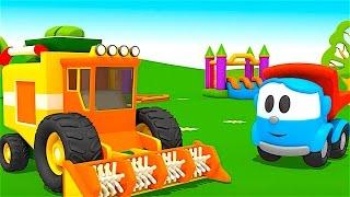 Pequeño Leo - La  Cosechadora - Coches infantiles - Carritos para niños - Camiones infantiles