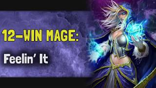 Hearthstone Arena | 12-Win Mage: Feelin' It w/ TTEXXX (Rise of Shadows #13)