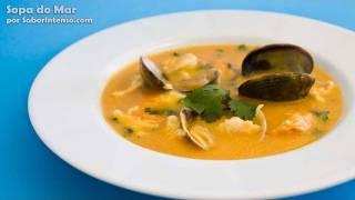Receita de Sopa do Mar